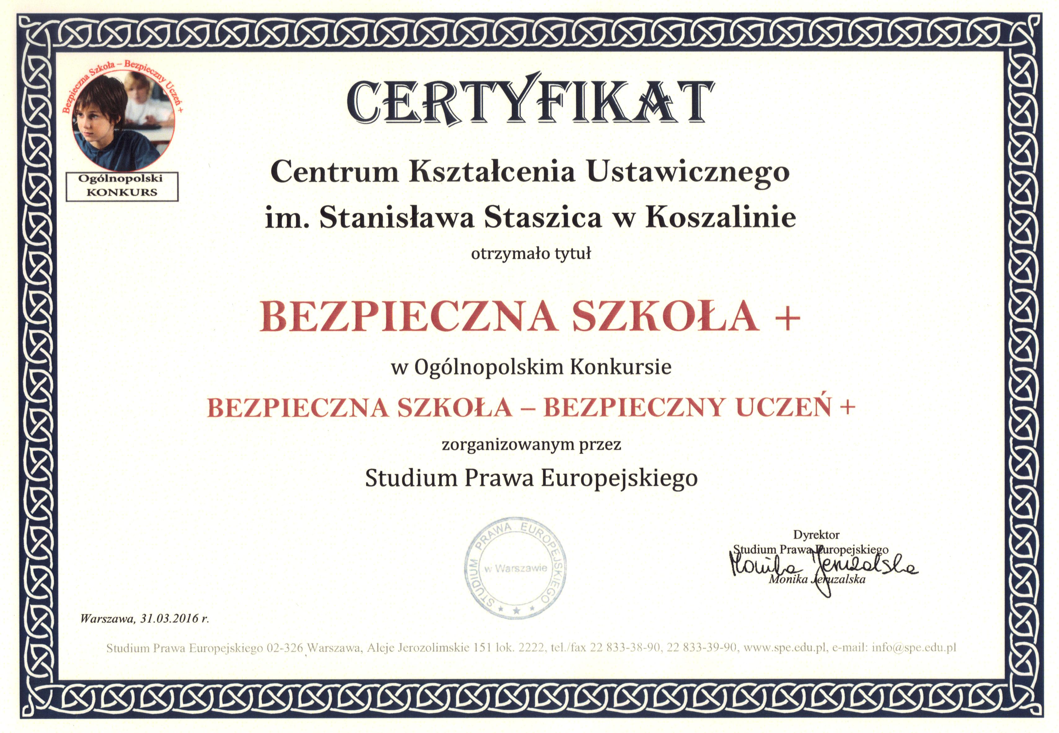 certyfikat_bezpieczna_szkola+