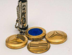 medale okazjonalne CNC